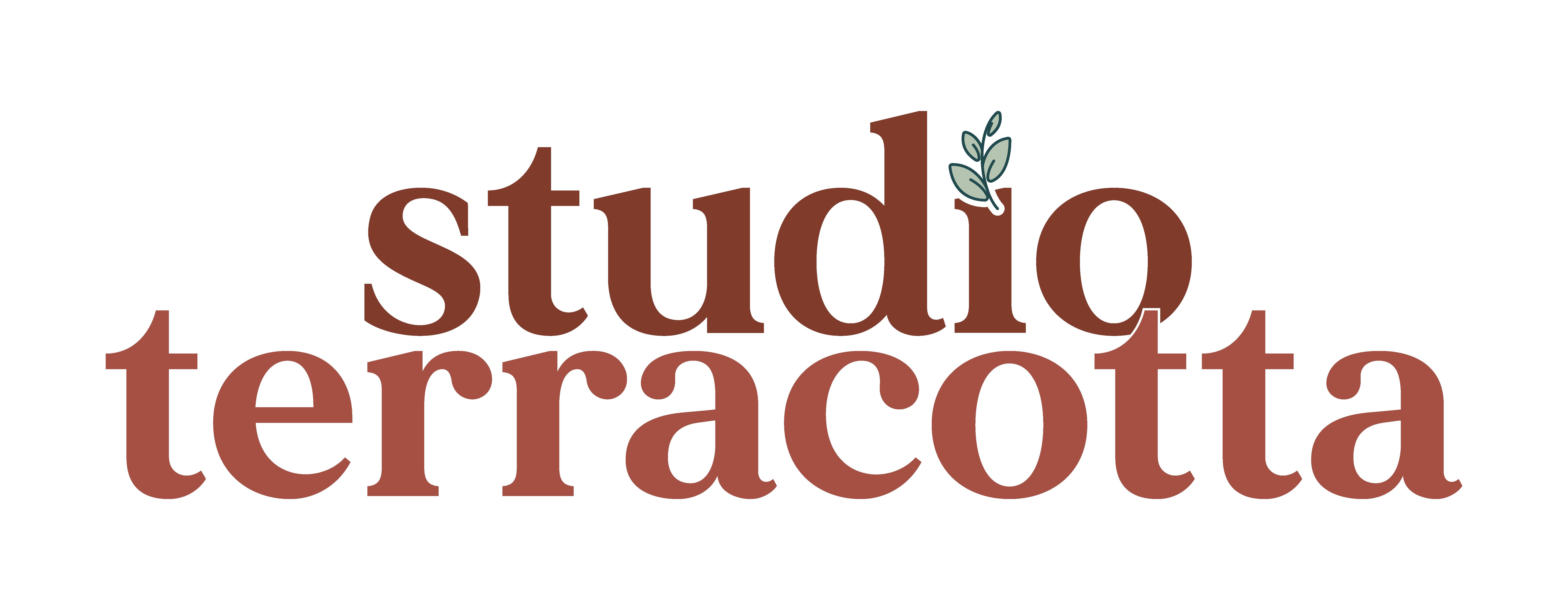 Studio terracotta – studio graphique Logo